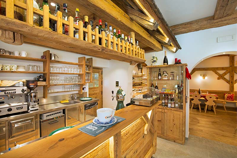 bar del Camping Miravalle